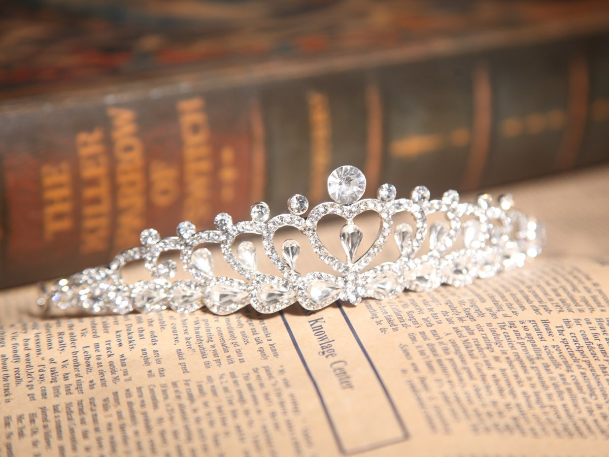 Lovely Alloy With Czech Rhinestones Wedding Headpieces
