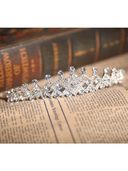 Women's Bright Alloy With Czech Rhinestones Wedding Headpieces