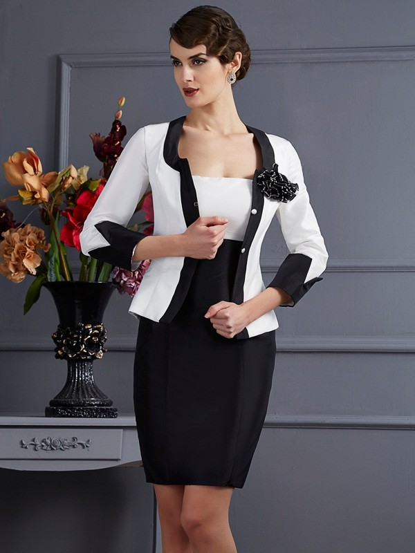 Women's 3/4 Sleeves Taffeta Special Occasion Wrap