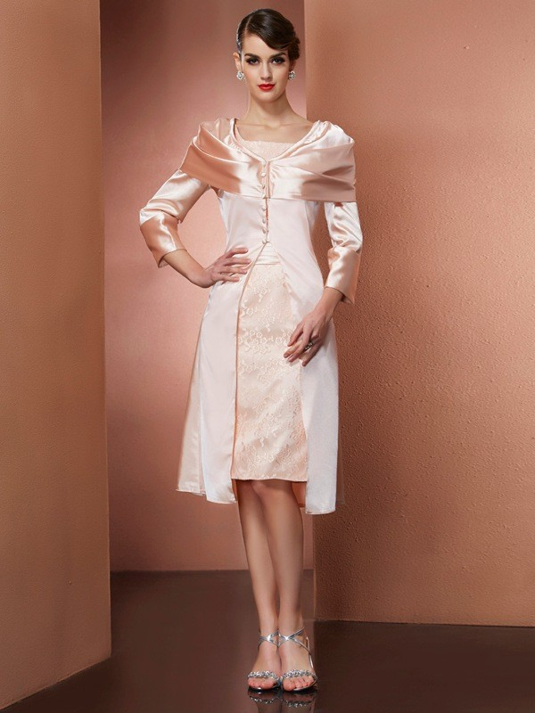 Women's Long Sleeves Elastic Woven Satin Special Occasion Wrap