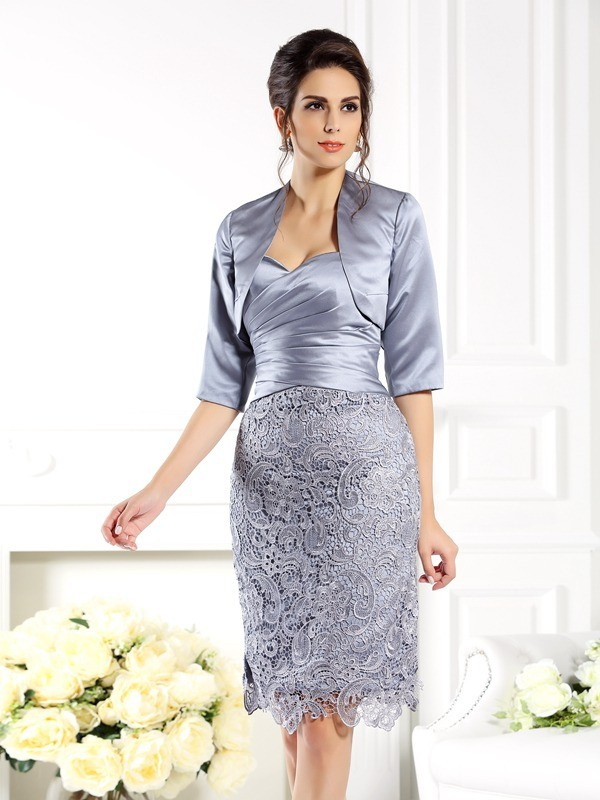 Women's Satin 1/2 Sleeves Special Occasion Wrap