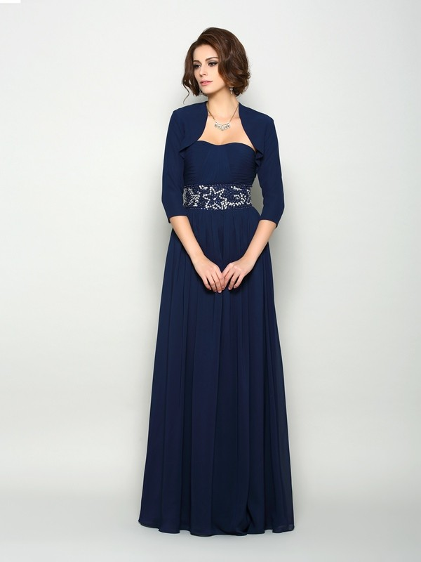 Women's 3/4 Sleeves Chiffon Special Occasion Wrap