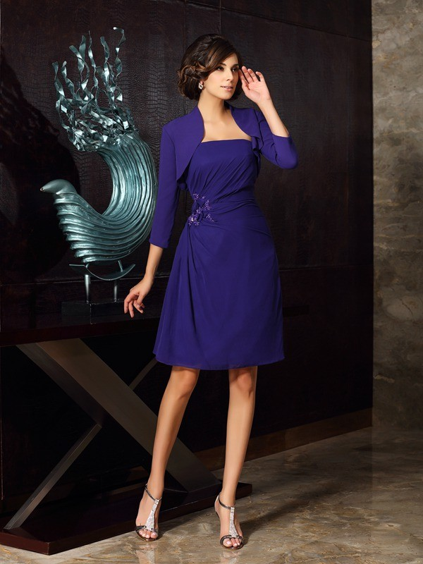 Women's Chiffon 3/4 Sleeves Special Occasion Wrap