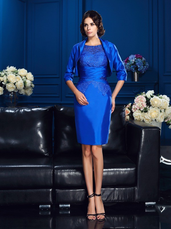Women's Taffeta 1/2 Sleeves Special Occasion Wrap