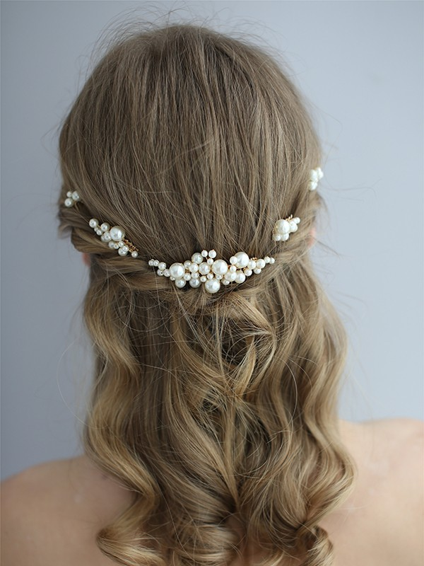 Fashional Pearls Headpieces