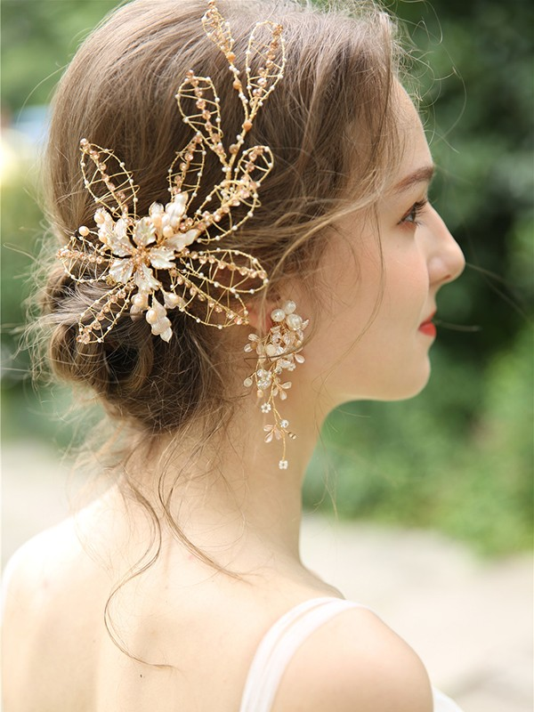 Gorgeous Czech Alloy Headpieces