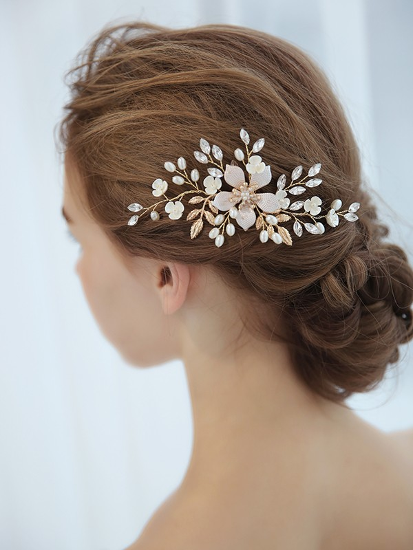 Amazing Czech Imitation Pearl Headpieces