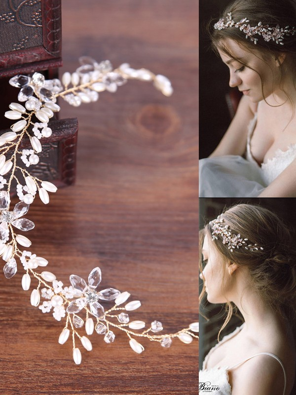 Bright Pearls Headpieces