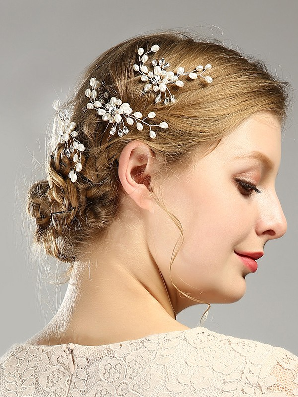 Unique Imitation pearls Headpieces