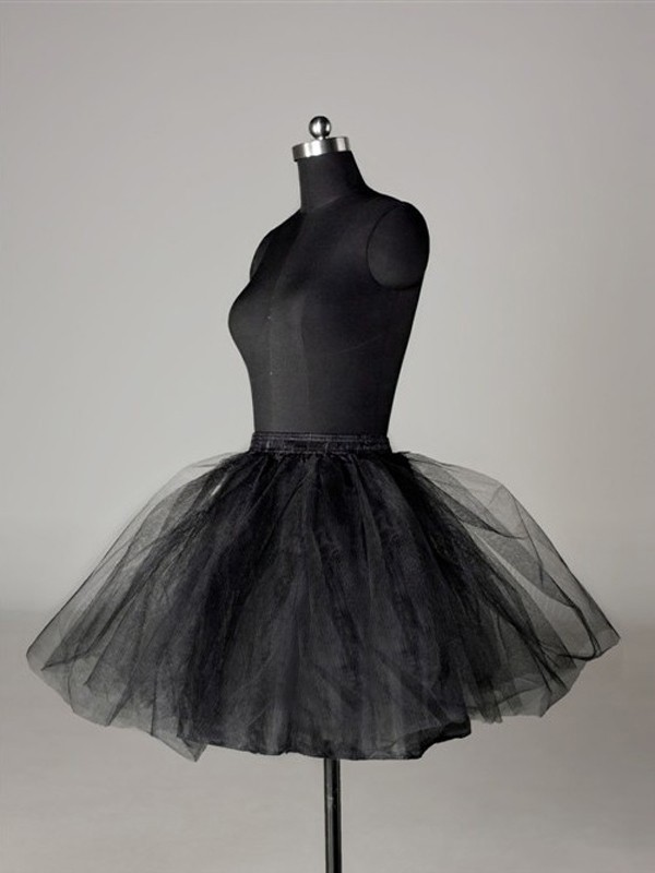 Ball-Gown 2 Tier Short Length Tulle Netting Special Occasion Petticoats